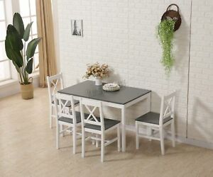 Tavolo Da Cucina Con 4 Sedie.Ricambio Riparazione Westwood Tavolo Da Pranzo In Legno Massello