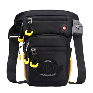 Men-Nylon-Tactical-Rider-Waist-Drop-Leg-Bag-Outdoor-Hip-Thigh-Pouch-Fanny-Pack