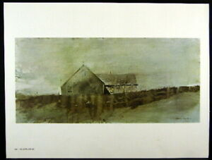 Andrew Wyeth Gravure Print HENRY TEEL Teel/'s Island