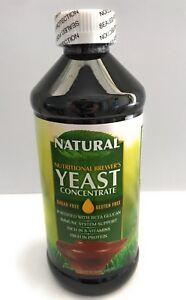 Nutritional-Brewer-039-s-YEAST-Concentrate-Sugar-FREE-Gluten-FREE-16-Oz-Liquid