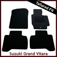 Suzuki Grand Vitara Mk2 5-Door 2005-2015 Tailored Fitted Carpet Car Mats BLACK