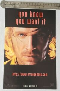 Strange-Days-Movie-RARE-Print-Advertisement