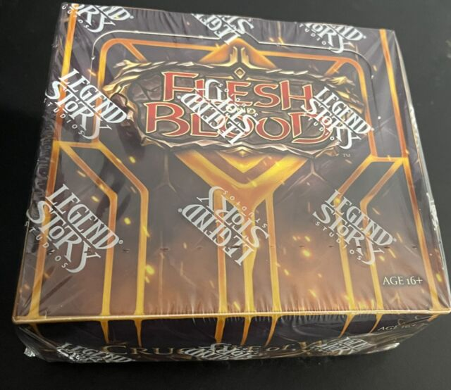 Flesh And Blood Crucible Of War 1st Edition Sealed Booster Box! NEW!