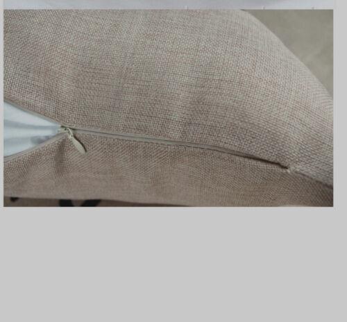 45 x 45 CM Coussin housse taie d/'oreiller Fraise Canvas-tissu
