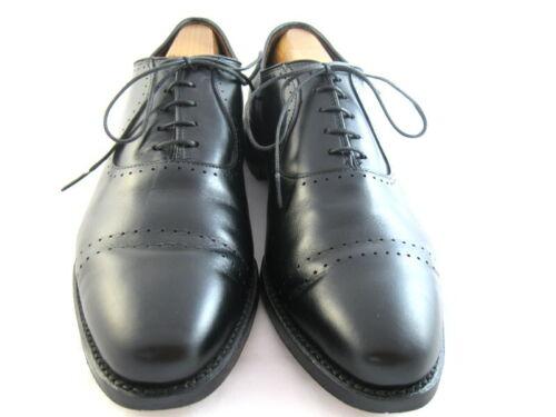 """Allen Edmonds """"VERNON"""" Oxfords 9 D  Black  (140)"""
