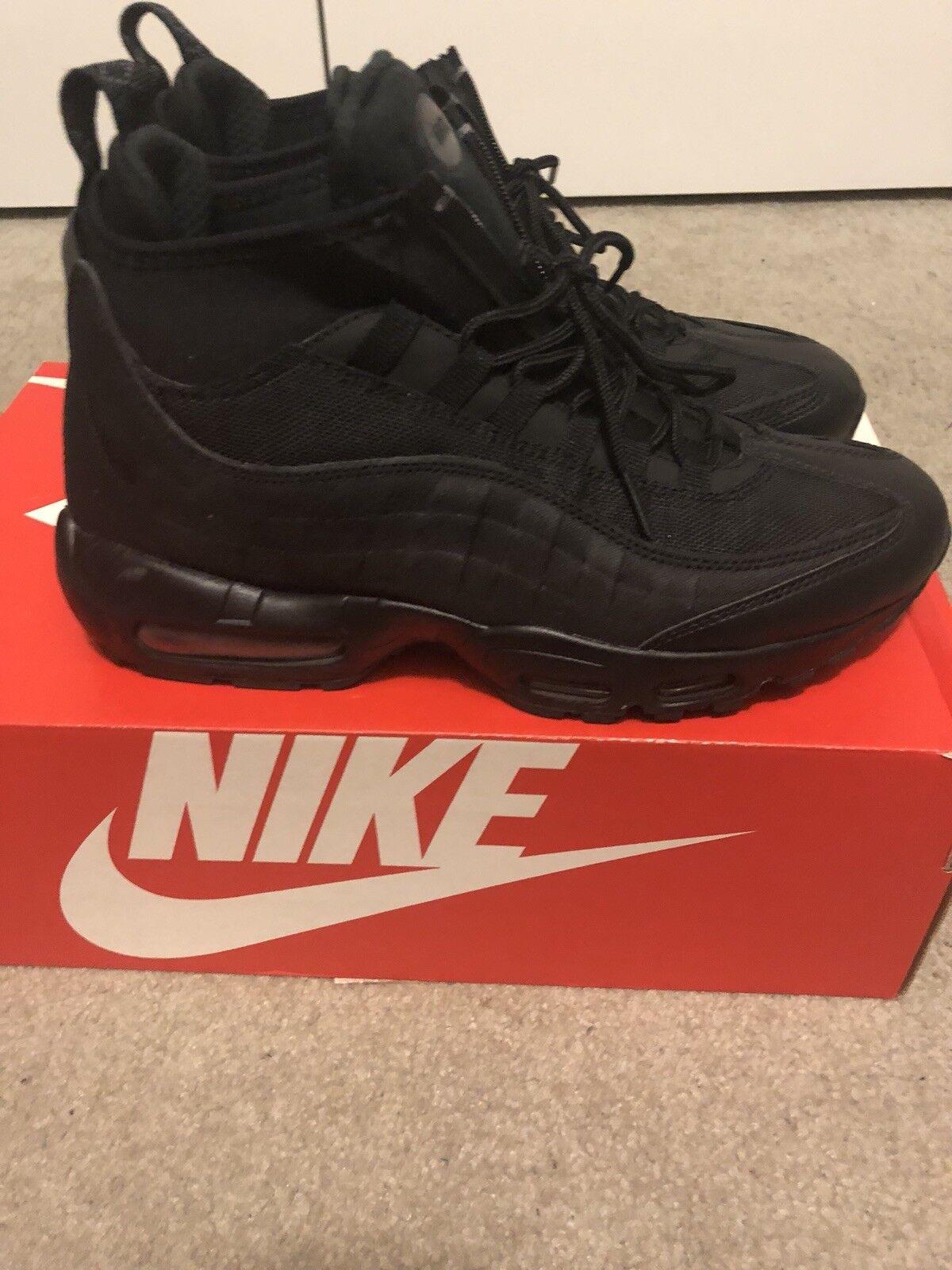 Men's Nike Air Max 95 Sneakerboot 806809-002 Size 8 Waterproof