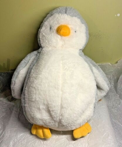 """Details about  /Ganz Ice Chill Penguin 15/"""" Plush Stuffed Animal White Gray 1950 Collection NWT"""