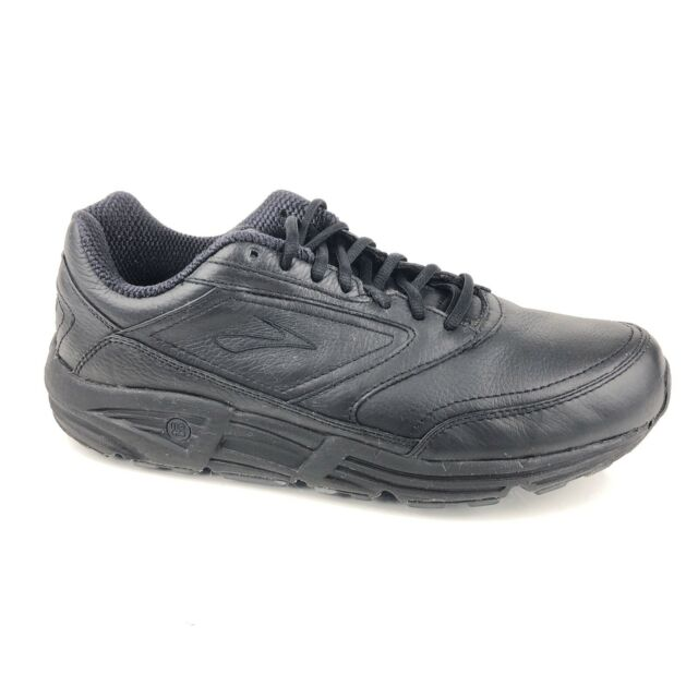 ed612e25a8fd5 Brooks Addiction Walker Mens Black 1100391D001 Slip Resistant Walking Shoes  11.5