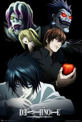 24x36 ANIME MANGA 3213 DEATH NOTE CHARACTERS POSTER