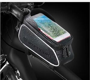 New-Cycling-Phone-Holder-Storage-Bag-Bike-Front-Tube-Frame-Bags-Waterproof-Pouch