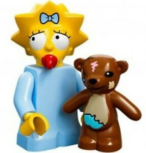The-Simpsons-Lego-collectible-minifig-baby-Maggie-Simpson-teddy-bear-dummy