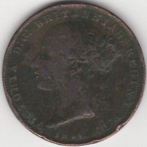 1851 Jersey 1/26th Shilling Coin | British Pièces | Pennies 2 Lb (environ 0.91 Kg)-afficher Le Titre D'origine 0jvdqj9i-08000025-693417581