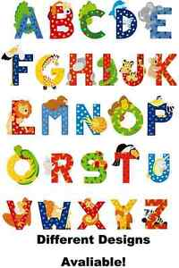 Image Is Loading Alphabet Letters Cake Or Cupcake Toppers Edible Wafer