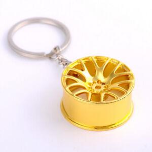 Creative-New-Wheel-Hub-Rim-Model-Man-039-s-Keychain-Car-Key-Chain-Cool-Keyring-Gift
