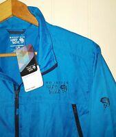 Mountain Hardwear Jacket Men's: Small (nwt) Blue
