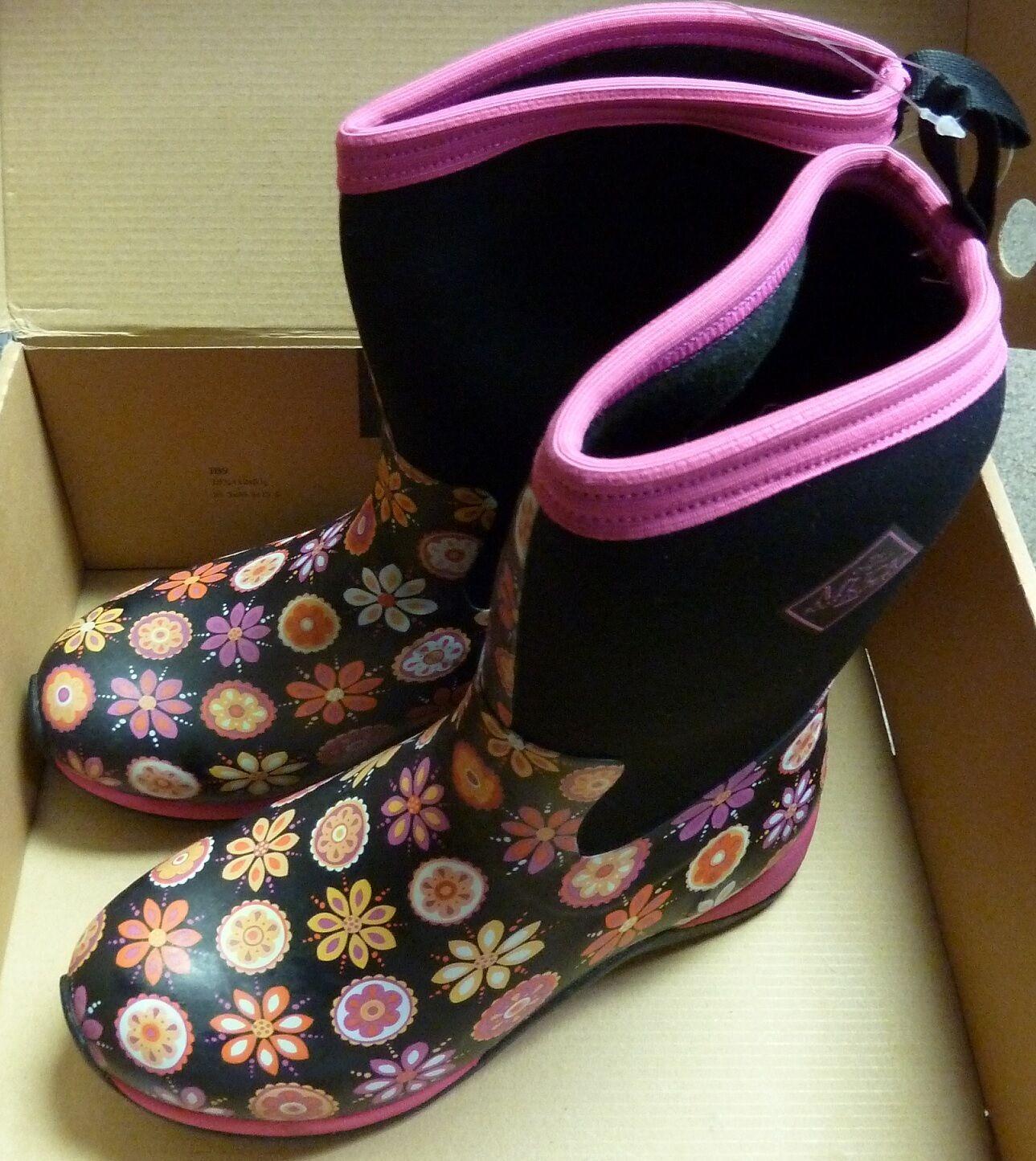 Muck Boots Women's Arctic Weekend Weekend Weekend Boot - Pink Flower Sz 6 b8e694