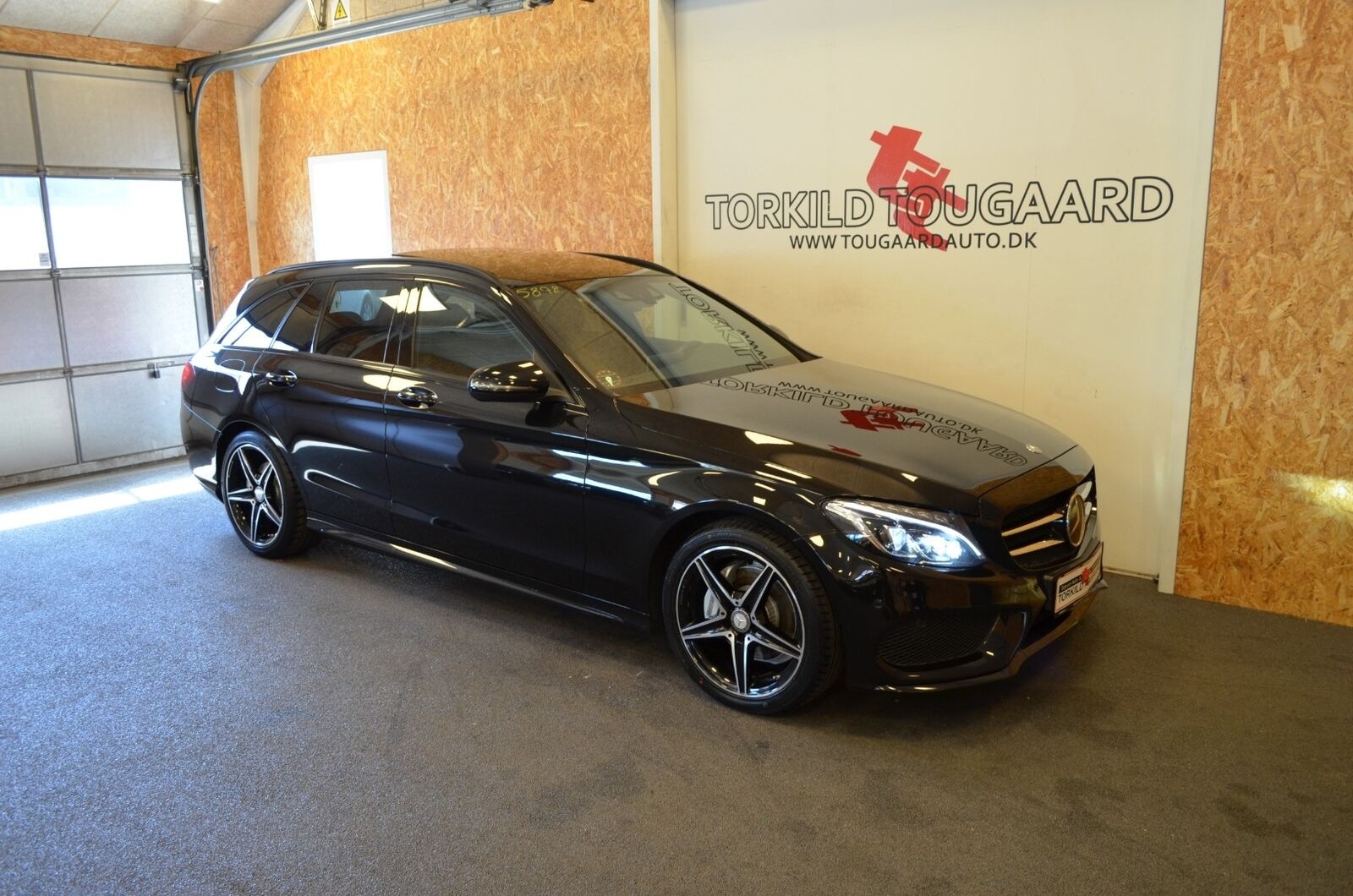 Mercedes C220 d 2,2 AMG Line stc. aut. 5d - 359.800 kr.