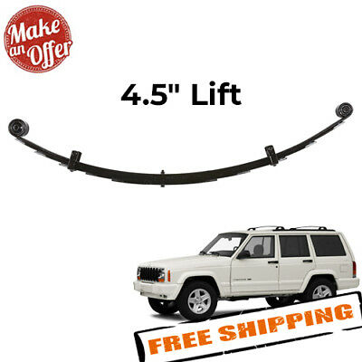 """Rubicon Express RE1462 4.5/"""" Extreme-Duty Rear Leaf Spring with Bushing for XJ"""