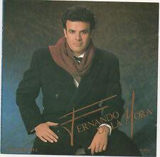 FERNANDO DE LA MORA      Album debut     MEXICAN  CD  PolyGram  1990 !