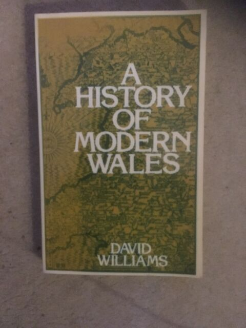 A History Of Modern Wales by David Williams.1485 Onwards. 1977 2nd Ed Paperback.
