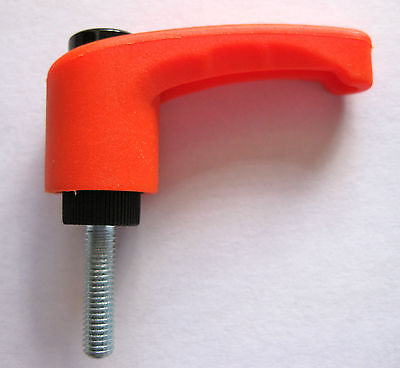 Clamping handle lever indexed rachet M8 drill saw bench bolt nut router sander