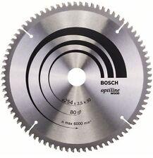 Bosch Optiline Wood Circular Saw Blade 254x30x80 2608640437