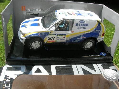 MAGNE PARIS DAKAR! SOLIDO 1//18 BMW X5 4X4 RALLYE X-RAID 2004 N°207 Luc ALPHAND