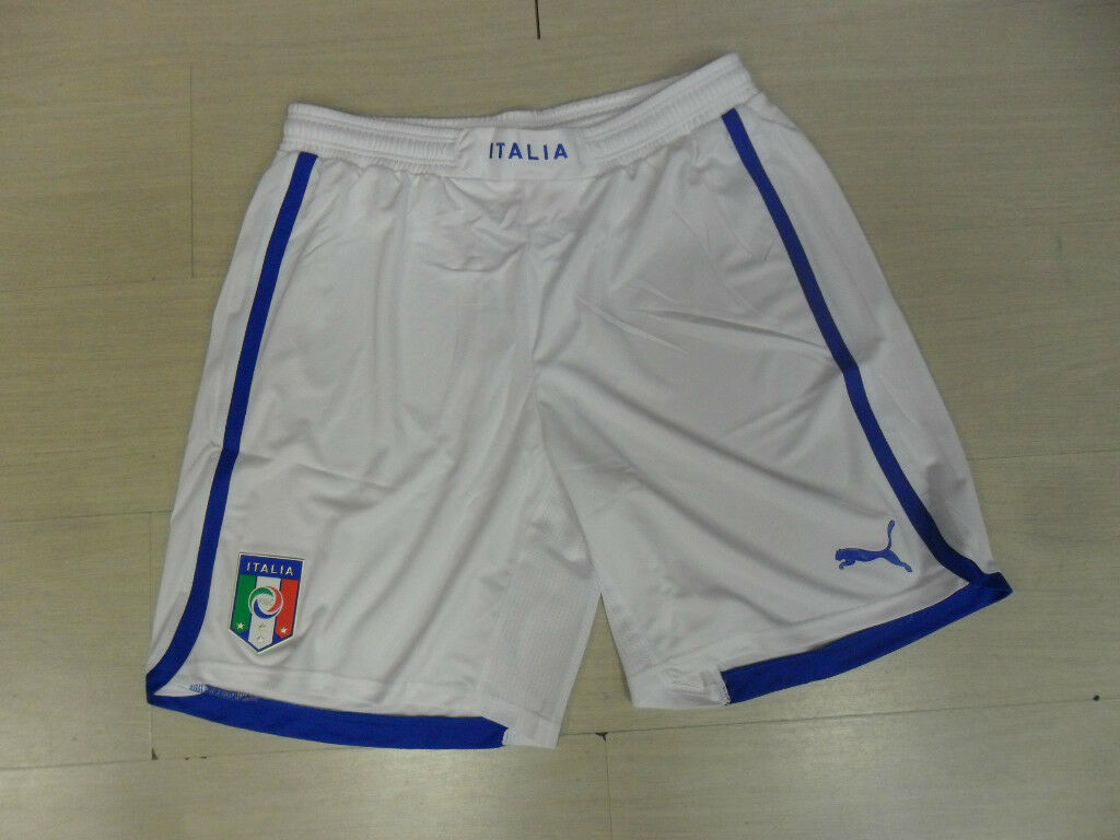 ITALY SHORTS SHORTS COMPETITION SIZE L ITALY HOME AWAY SHORTS EURO