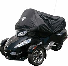 Can-Am Spyder RT Half Cover 100% Waterproof Expanable Windshield Pocket Black