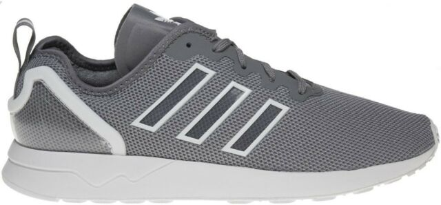 separation shoes f3044 8d81c adidas Originals ZX Flux ADV Grey White Mens Casual Shoes Trainers S79006  UK 10.5