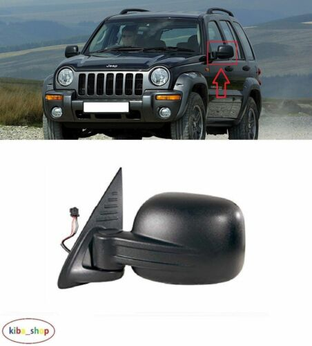 JEEP CHEROKEE//LIBERTY 2001-2009 NEW WING MIRROR ELECTRIC 5PIN LEFT O//S LHD
