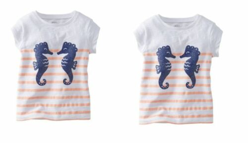 CARTERS GIRLS BABY AND TODDLER GRAPHIC TEE SHIRTS MULTI SIZES NEW WITH TAGS