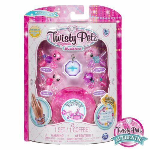 Pack 4 Babies Twisty Petz Bracelets Bijou Cadeau Animaux Magiques Jouet Enfant