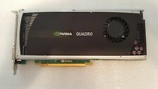 38XNM DELL NVIDIA Quadro 4000 2GB GDDR5 256-bit PCI-E 2.0 x16 Video Card TESTED