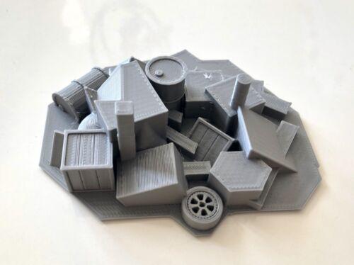 klein Zombicide 3D Schutt