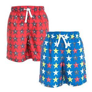 Trespass-Hitter-Boys-Summer-Shorts-Hiking-Casual-Star-Print-with-Inner-Mesh-Pant