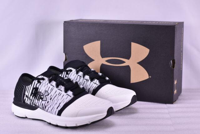 100% authentic 93502 5e937 Men's Under Armour Speedform Gemini 3 GR Running Shoes, White/Black, 12(4E)