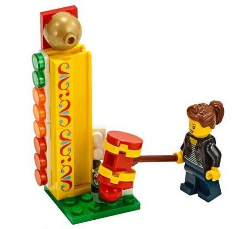 LEGO Fun Fair Working Strength Test /& Minifigure Train Scenery 60197 60198