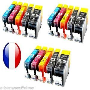 Cartouches-encre-compatibles-PGI550-CLI551-pour-Canon-pixma-MG-IP-MX-AVEC-PUCE