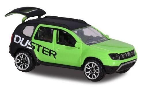 Majorette 212084009-Racing Cars-Dacia Duster Andros racing-verde//negro