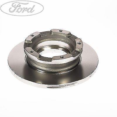 Genuine Ford Transit MK7 Rear Solid Brake Disc 280mm 5 Stud SINGLE 2256895