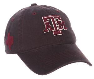 TEXAS-A-amp-M-AGGIES-NCAA-ADJUSTABLE-STRAPBACK-STATESIDE-DAD-CAP-HAT-NWT-ZEPHYR