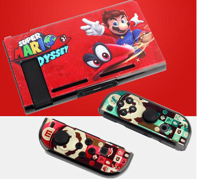 New Super Mario Odyssey Game Theme Case For Nintendo Switch System Ns Console Ebay