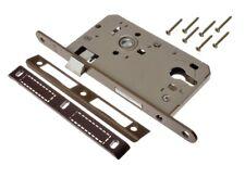 silber EUROBAT ZT-Einsteckschloss KL.3 PZ 60//72//8//20mm LS F//R=Metall abg