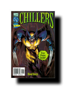 Chillers Featuring The X-Men:Blood Storm'96 Marvel TPB w/Poster Comic Book XMEN!