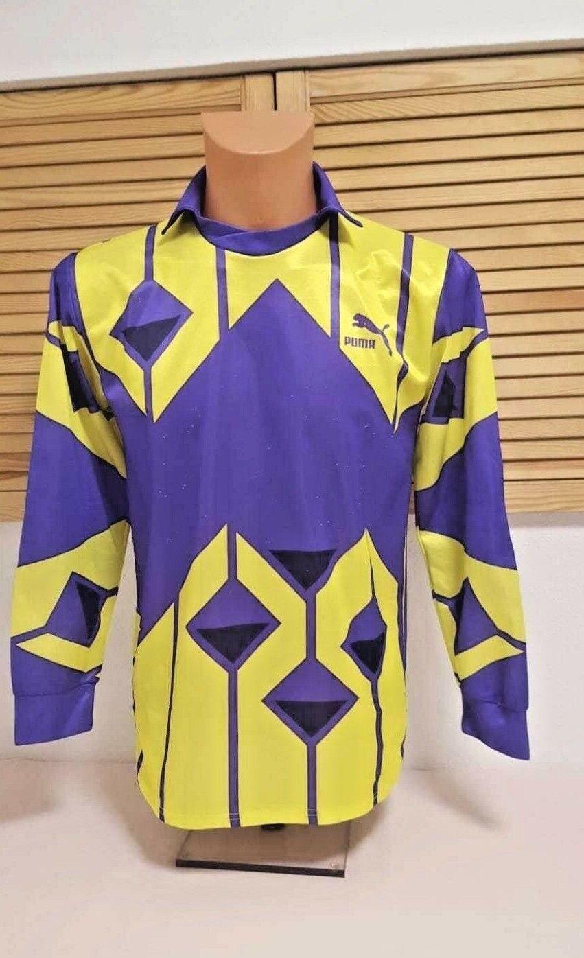 PUMA Vintage Retro Torwart Trikot Jersey Goalkeeper Maillot Shirt Camiseta S    Qualität zuerst