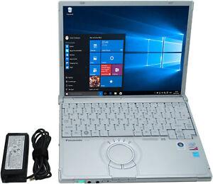 Panasonic-TOUGHBOOK-Notebook-cf-t8-Core-2-Duo-1-2ghz-3-GB-di-RAM-120gb-HDD-WIN-10