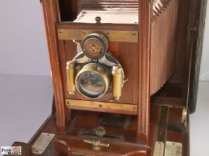 Century-Model-46-plate-camera-Plattenkamera-USA-Holz-Laufboden-13x18-cm