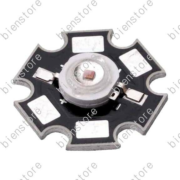 20pcs high power 1W Infrared IR 940nm LED diodes Light Part with 20mm Star Base