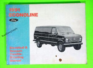1991 Ford E150 E250 E350 Electrical Wiring Diagrams ...